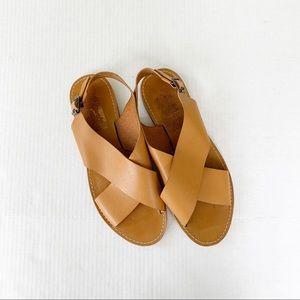 74c45808449b Madewell The Boardwalk Crossover Sandal Size 11